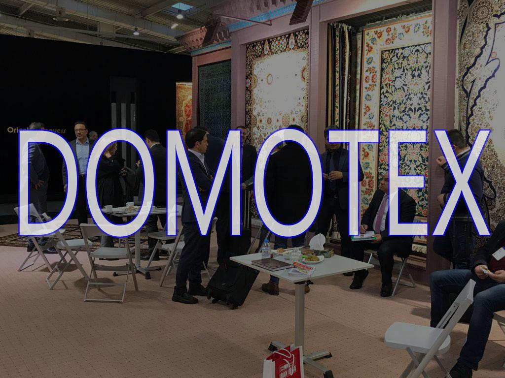 حضور فرش الماس کویر در نمایشگاه دموتکس ۲۰۲۰ آلمان